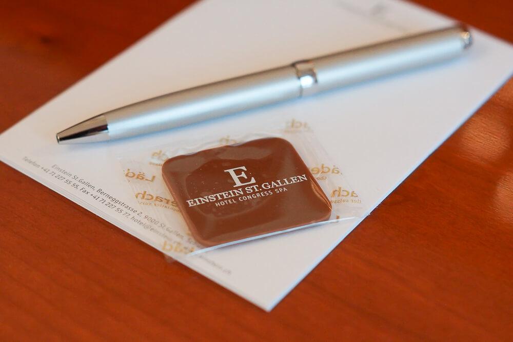Hotel Einstein St. Gallen - Betthupferl