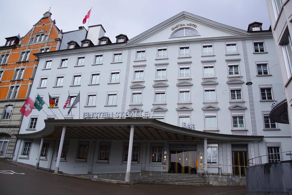 Hotel Einstein St. Gallen - Eingang