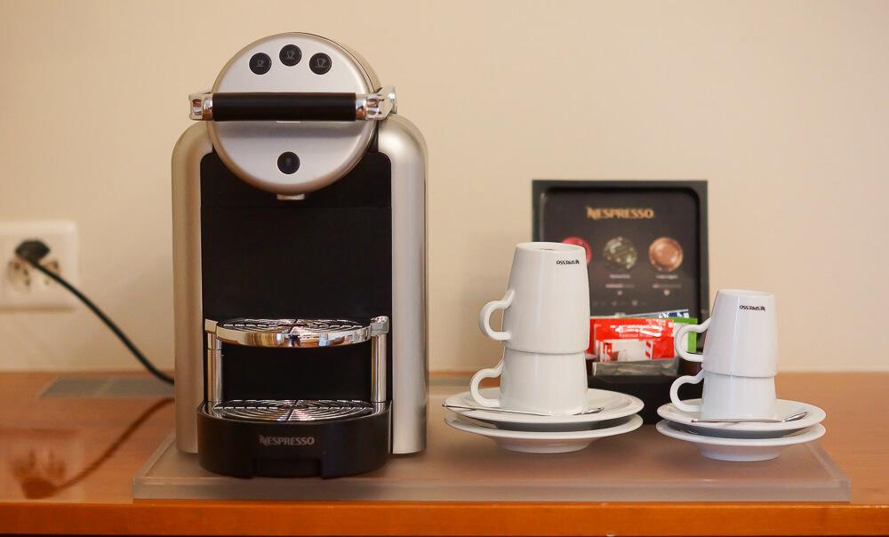 Hotel Einstein St. Gallen - Nespresso und Tee