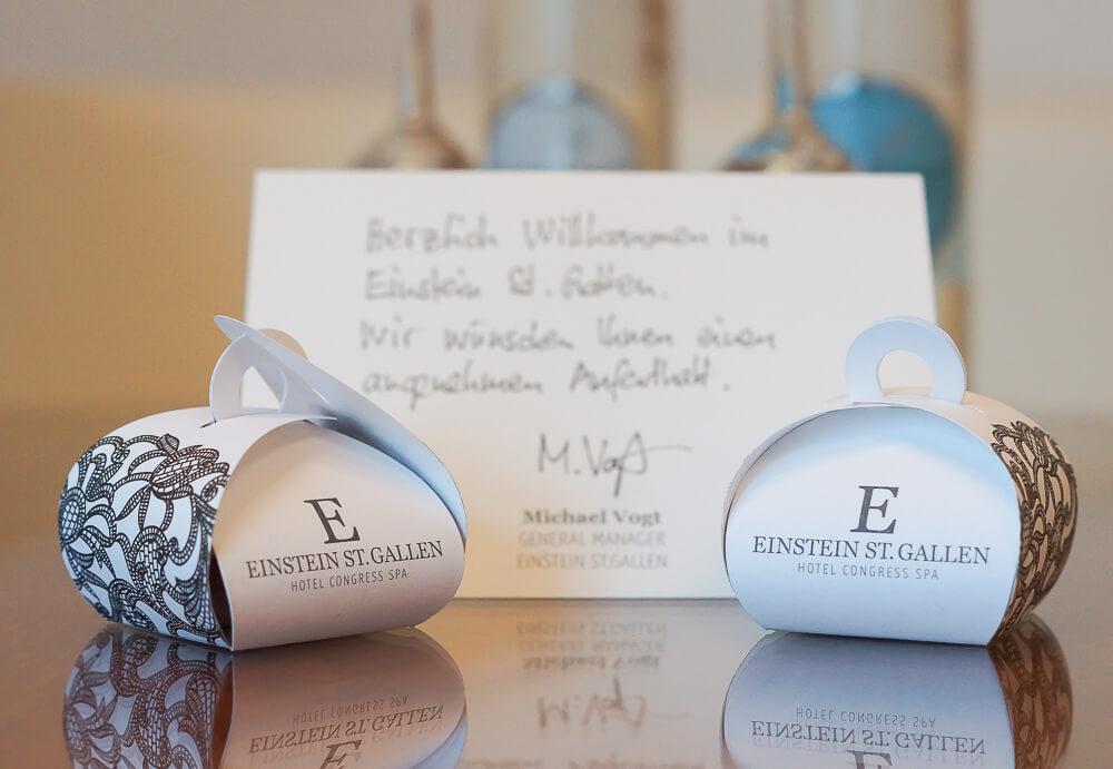 Hotel Einstein St. Gallen - Warm Welcome