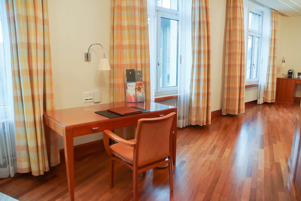 Hotel Einstein St. Gallen - Zimmer Flur