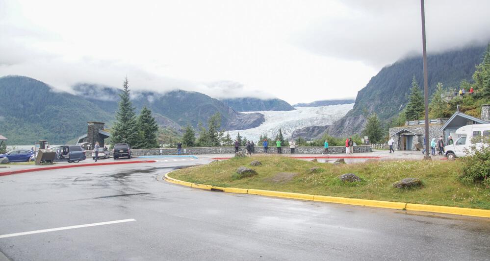 Mendenhall-Gletscher - Parkplatz
