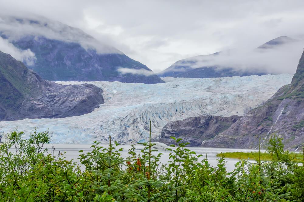 Mendenhall-Gletscher - Urige Landschaft
