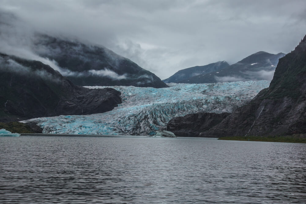 Mendenhall-Gletscher - grandiose Farben