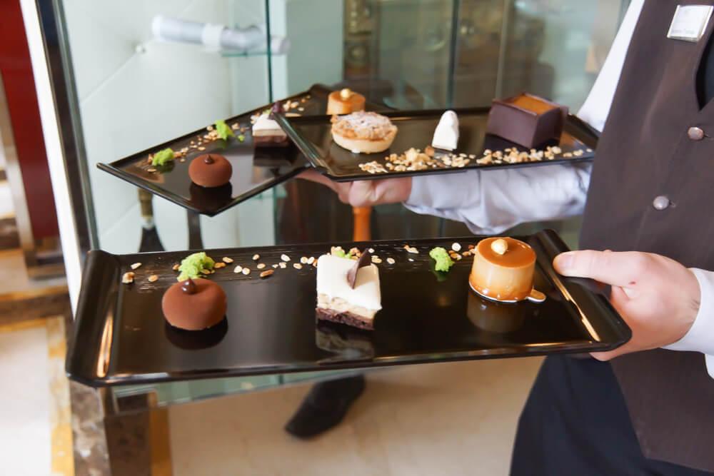 New York Café in Budapest, Ungarn - Desserts
