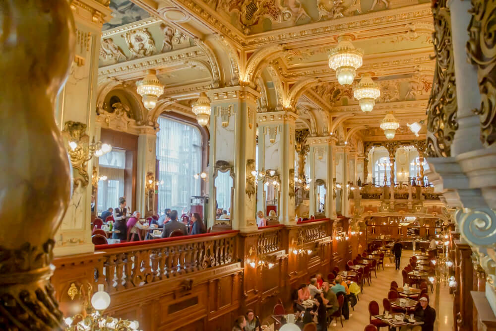 New York Café in Budapest, Ungarn - Innenraum