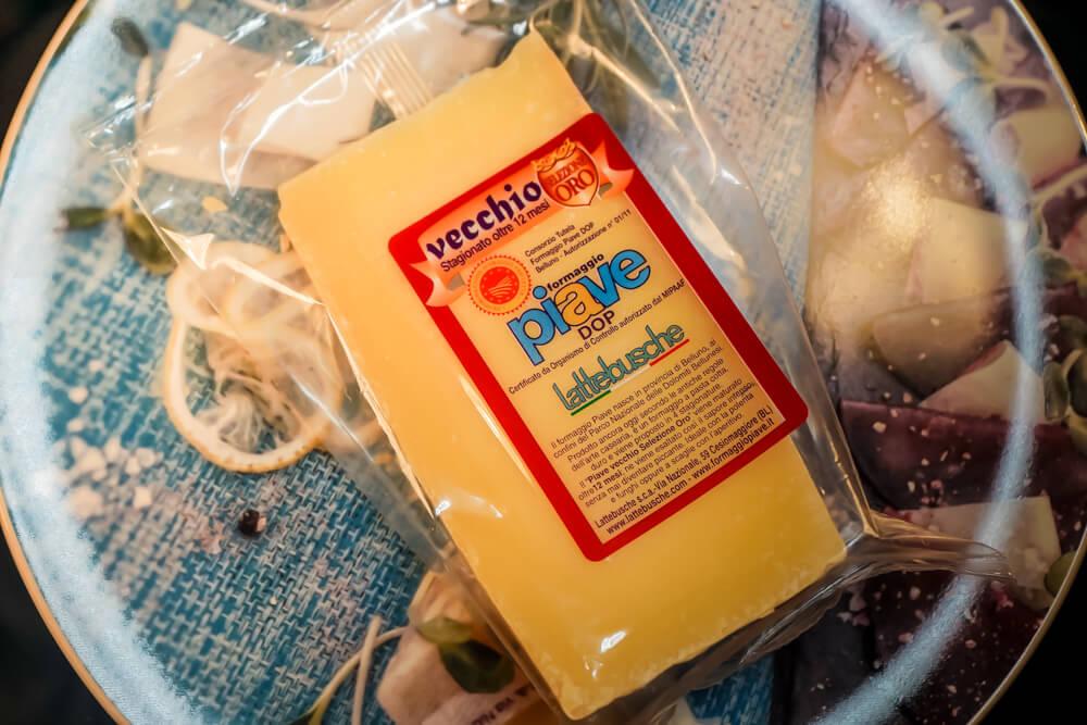 Piave Käse von den Belluneser Dolomiten 1
