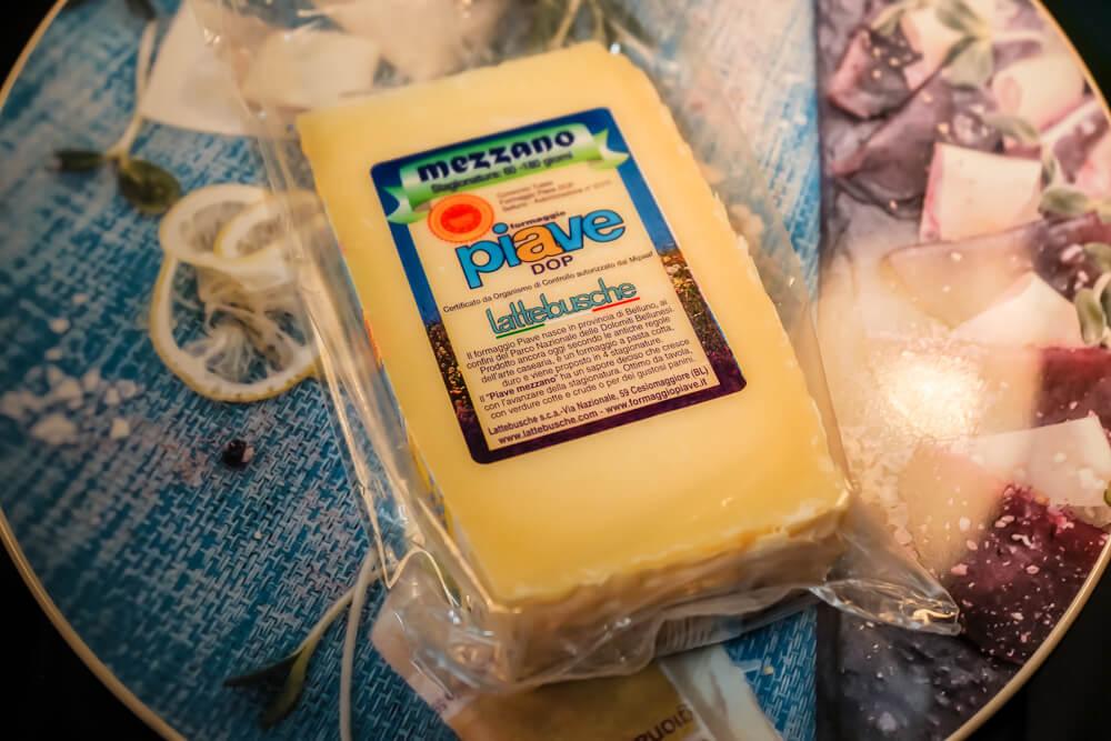 Piave Käse von den Belluneser Dolomiten 2