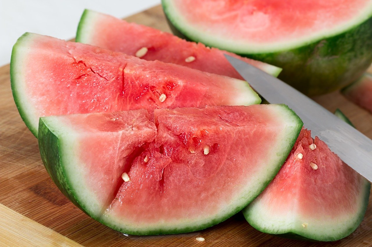 Wassermelonen Stücke