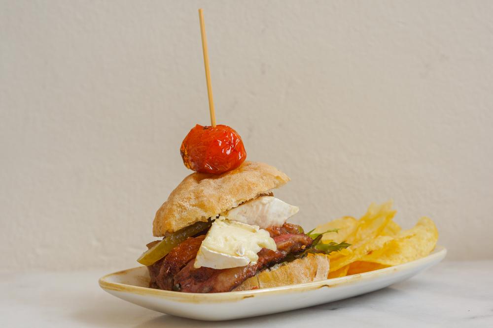 La Casa del Ray, Málaga - kreativer Mini Burger
