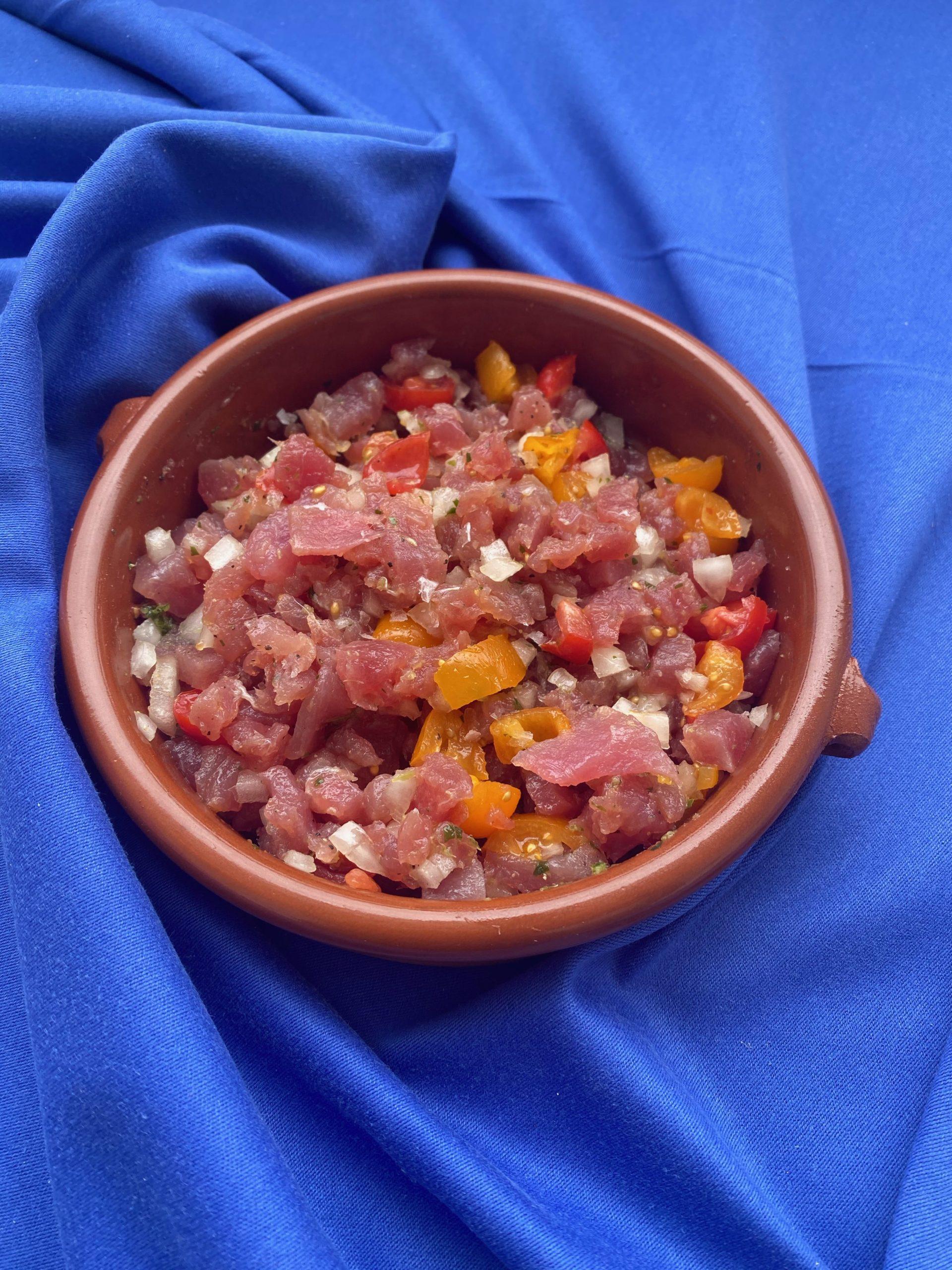 Thunfisch Ceviche vom Feinsten-min