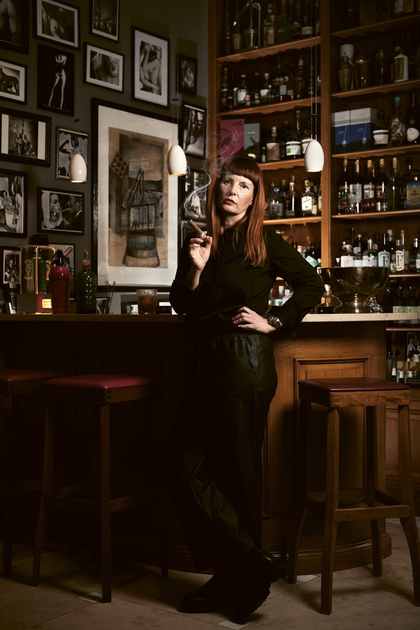 Portrait Maren Meyer, Barkeeperin, Langenhagen, 18.03.2021.