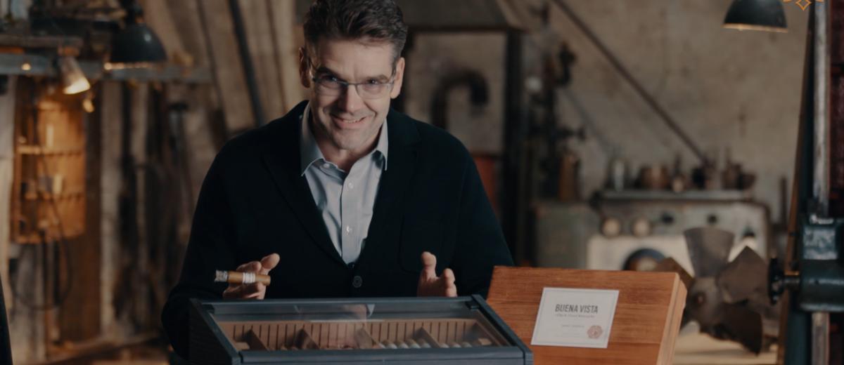 Der Humidor, perfekte Zigarrenlagerung